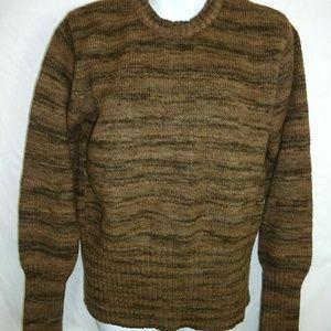 Vintage Columbia Brown crew neck wool sweater